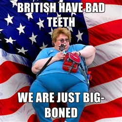 Why do Brits have bad teeth?